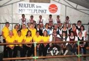 Gruppenfoto aller Teilnehmer beim Kirchtag 2010