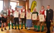 20, 30, 35 und 45 Jahre Vereinszugehörigkeit - Urkundenverleihung
